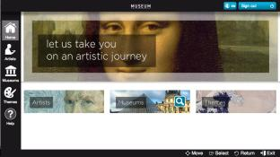 THE MUSEUM CHANNEL screenshot