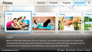 Fitness-Samsung Smart Content screenshot3