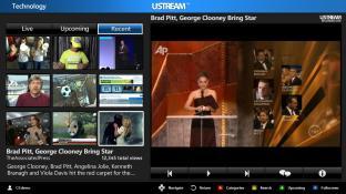 Ustream 2012 screenshot