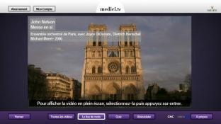 medici.tv, Classical music screenshot