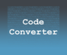 CodeConverter
