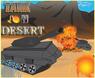 Tank on Desert