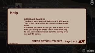 Spider Solitaire screenshot2