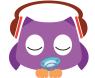 Sleep Baby Owl - White Noise for Babys