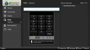 vTuner internet radio screenshot3