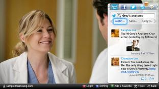 소셜 네트워크 screenshot