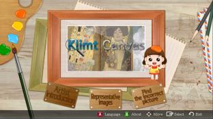 Klimt Canvas screenshot