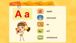 Alphabet Word A screenshot