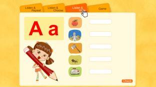 Alphabet Word A screenshot2
