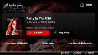 Red Karaoke screenshot1