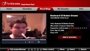 Red Karaoke screenshot3