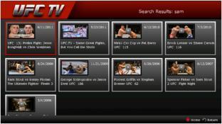 UFC.TV screenshot3