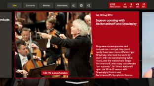 Digital Concert Hall screenshot3