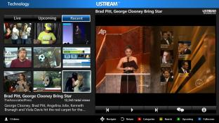 Ustream 2012 screenshot