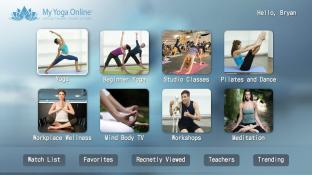 My Yoga Online screenshot1
