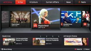 Arirang TV screenshot
