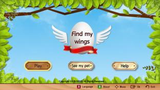 Find my wings screenshot