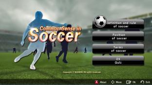 Common sense in soccer screenshot